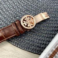 Мужские наручные часы Patek Philippe Grand Complications 5002 Sky Moon Brown-Gold-Milk New, фото 4