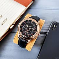 Мужские наручные часы Patek Philippe Grand Complications 5002 Sky Moon Black-Gold-Black, фото 2