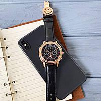 Мужские наручные часы Patek Philippe Grand Complications 5002 Sky Moon Black-Gold-Black, фото 3