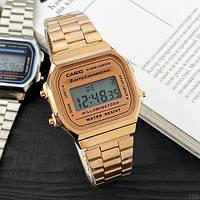 Мужские наручные часы Casio Illuminator F-91W Cuprum New, фото 3