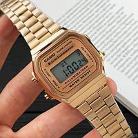 Мужские наручные часы Casio Illuminator F-91W Cuprum New, фото 4