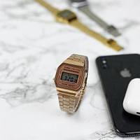 Мужские наручные часы Casio Illuminator F-91W Cuprum New, фото 6