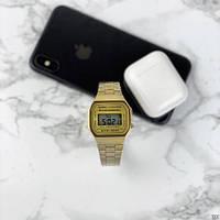 Мужские наручные часы Casio Illuminator F-91W Gold New, фото 9