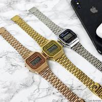 Мужские наручные часы Casio Illuminator F-91W Gold New, фото 10
