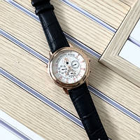 Мужские наручные часы Patek Philippe Grand Complications 5002 Sky Moon Black-Gold-White New, фото 3