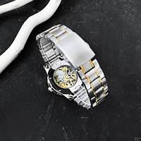 Мужские наручные часы Winner 8012 Automatic Silver-Gold, фото 5