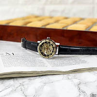 Мужские наручные часы Winner 8012C Diamonds Automatic Black-Silver-Gold-Black, фото 7