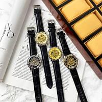 Мужские наручные часы Winner 8012C Diamonds Automatic Black-Silver-Gold-Black, фото 8