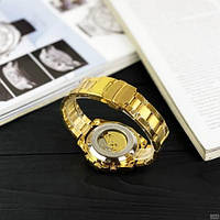 Мужские наручные часы Winner 8186 Big Diamonds Gold, фото 8
