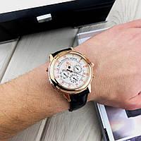 Мужские наручные часы Patek Philippe Grand Complications 5002 Sky Moon Black-Gold-White New, фото 2