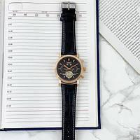Мужские наручные часы Jaragar 540 Black-Cuprum-Black, фото 4