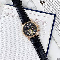 Мужские наручные часы Jaragar 540 Black-Cuprum-Black, фото 5