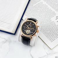 Мужские наручные часы Jaragar 540 Black-Cuprum-Black, фото 6