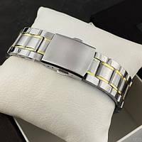 Мужские наручные часы Winner 8012 Diamonds Automatic Silver-Gold, фото 4