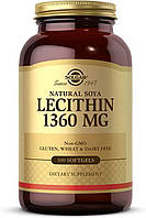 Solgar Natural Soya Lecithin 1360mg 100 softgels