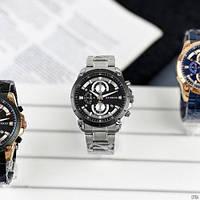 Мужские наручные часы Curren 8360 Silver-Black, фото 5
