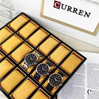 Мужские наручные часы Curren 8366 Black-Gold, фото 8