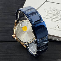 Мужские наручные часы Curren 8366 Blue-Gold, фото 3