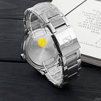 Мужские наручные часы Curren 8366 Silver-Black, фото 3