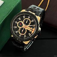 Мужские наручные часы Curren 8337 Black-Cuprum, фото 5