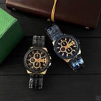 Мужские наручные часы Curren 8337 Black-Cuprum, фото 6