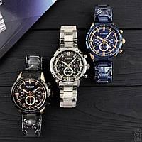 Мужские наручные часы Curren 8355 Silver-Black, фото 4