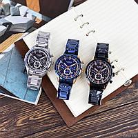 Мужские наручные часы Curren 8355 Silver-Black, фото 6