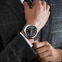Мужские наручные часы Curren 8322 Silver-Black, фото 2
