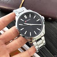 Мужские наручные часы Curren 8322 Silver-Black, фото 3