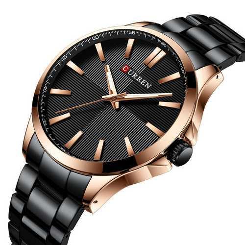 Мужские наручные часы Curren 8322 Cuprum-Black