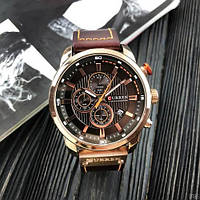 Мужские наручные часыCurren 8291Cuprum-Brown, фото 4