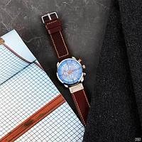 Мужские наручные часы Curren 8291 Silver-Blue, фото 6