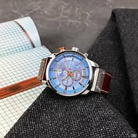 Мужские наручные часы Curren 8291 Silver-Blue, фото 7