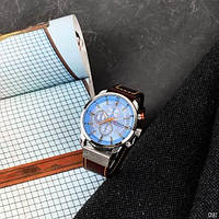 Мужские наручные часы Curren 8291 Silver-Blue, фото 8