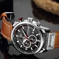 Мужские наручные часы Curren 8291 Silver-Black, фото 2
