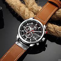 Мужские наручные часы Curren 8291 Silver-Black, фото 3