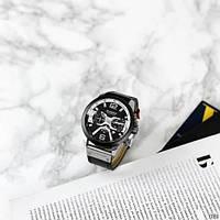 Мужские наручные часы Curren 8329 Black-Silver, фото 5