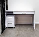 Стол письменный Альфа с ящиком 1200*600, фото 2