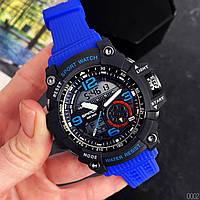Мужские наручные часы Sanda 759 Blue-Black, фото 4