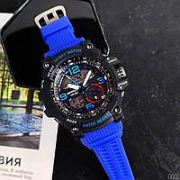 Мужские наручные часы Sanda 759 Blue-Black, фото 5