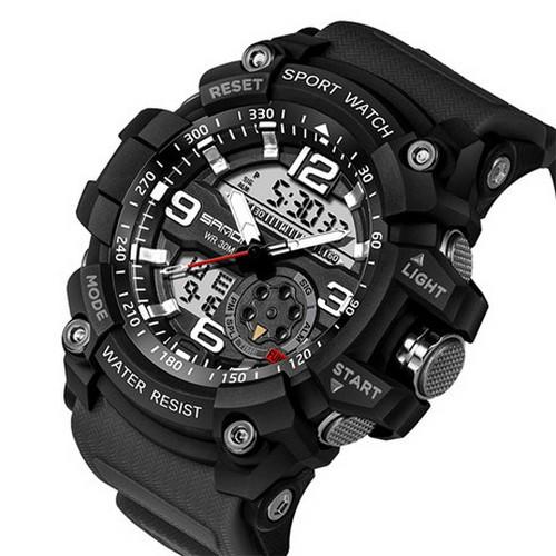 Мужские наручные часы Sanda 759 All Black