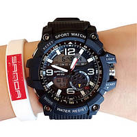 Мужские наручные часы Sanda 759 All Black, фото 2