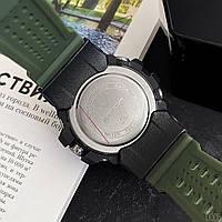 Мужские наручные часы Sanda 759 Green-Black, фото 3
