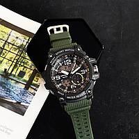 Мужские наручные часы Sanda 759 Green-Black, фото 5