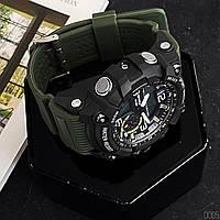 Мужские наручные часы Sanda 759 Green-Black, фото 6