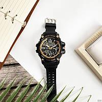 Мужские наручные часы Sanda 759 Black-Gold, фото 3
