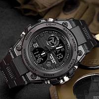 Мужские наручные часы Sanda 739 All Black, фото 2