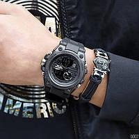 Мужские наручные часы Sanda 739 All Black, фото 4