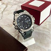 Мужские наручные часы Sanda 739 Black-Silver, фото 2