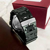 Мужские наручные часы Sanda 739 Black-Silver, фото 3